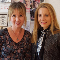 Marie mit Simone Franze