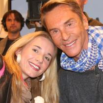 Marie mit Wolfgang Joop