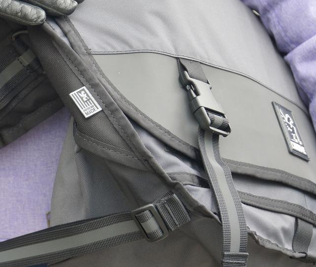 Mini Metro Welterweight Chrome Messenger Bag 10