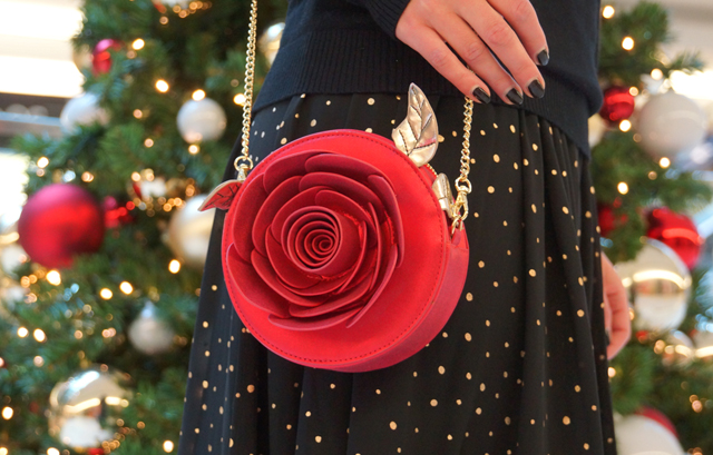 Outfit Weihnachtsoutfit Rose Disney Tasche Bag Danielle Nicole 07