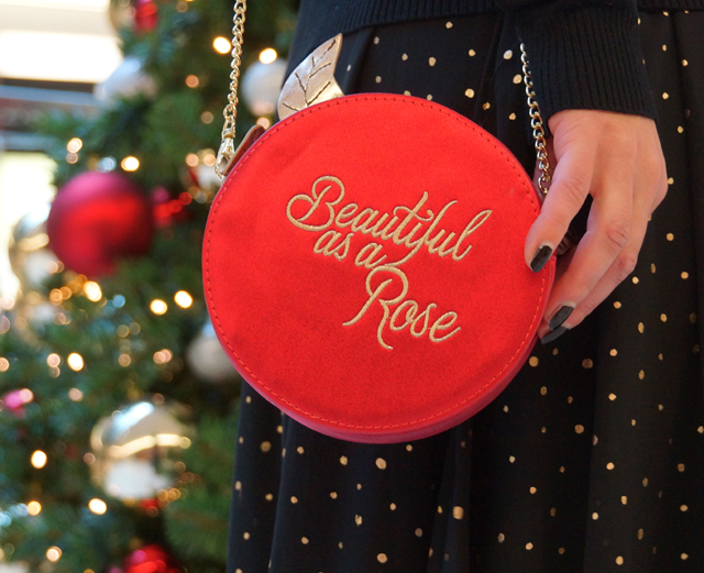Outfit Weihnachtsoutfit Rose Disney Tasche Bag Danielle Nicole 08