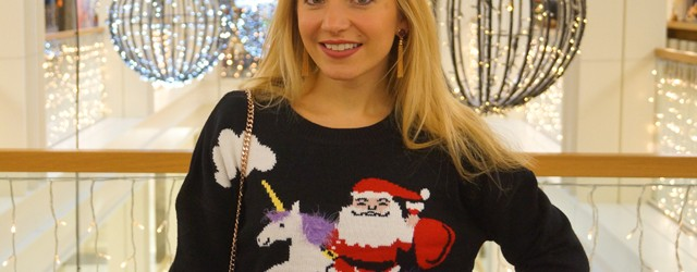 Outfit Weihnachtspullover Ugly Christmas Sweater 01