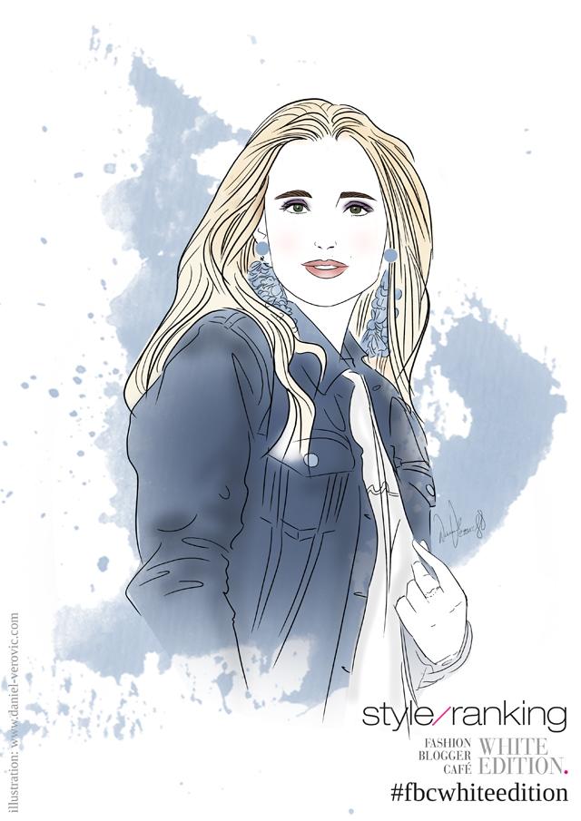 Illustration Marie von GlamourSister by Daniel Verovic