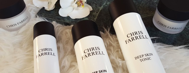 Meine aktuelle Pflegeroutine mit Chris Farrell Cosmetics 01