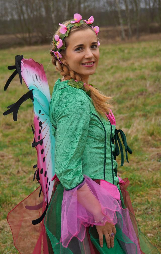 Outfit Elfenkostüm Kostümvorstellung Elfe Elvira 05