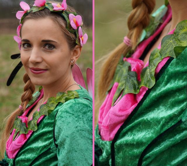 Outfit Elfenkostüm Kostümvorstellung Elfe Elvira 04