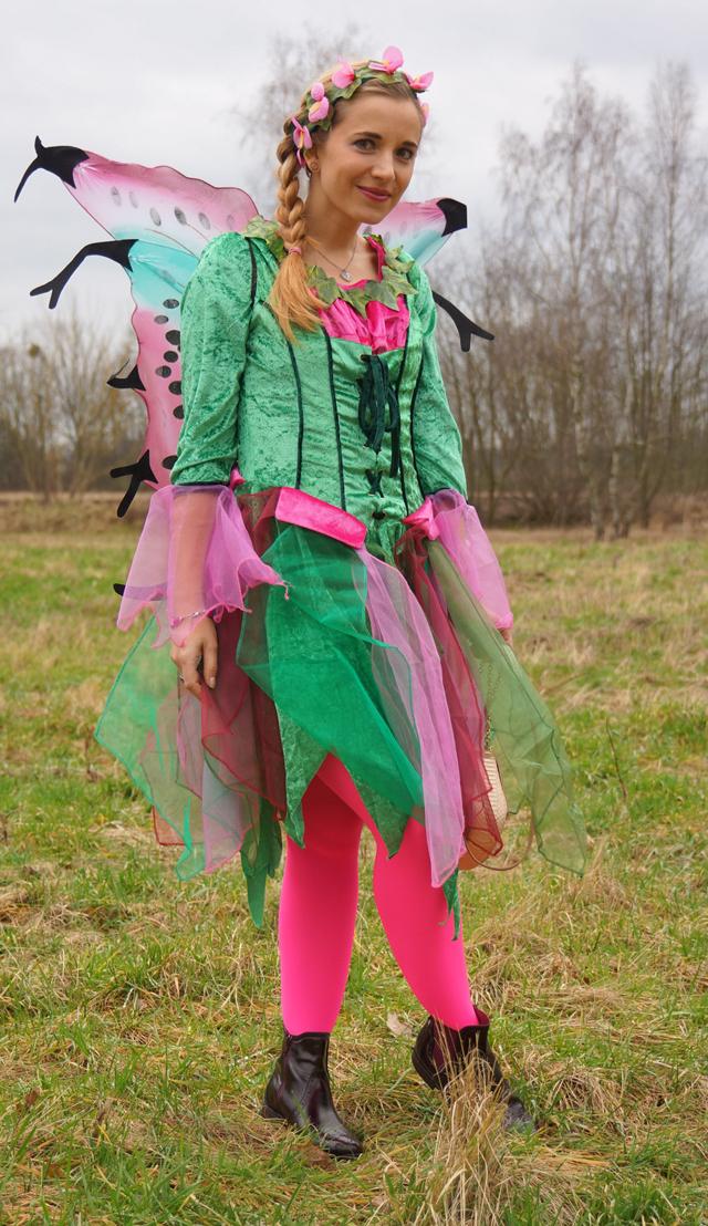 Outfit Elfenkostüm Kostümvorstellung Elfe Elvira 08