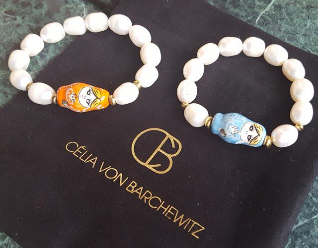 Glücksbringer Célia von Barchewitz Perlenschmuck Armband Matroschkas 04