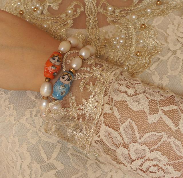 Glücksbringer Célia von Barchewitz Perlenschmuck Armband Matroschkas 03
