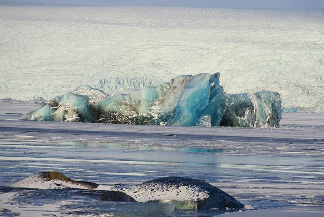 Island Gletscherlagune Jökulsárlón