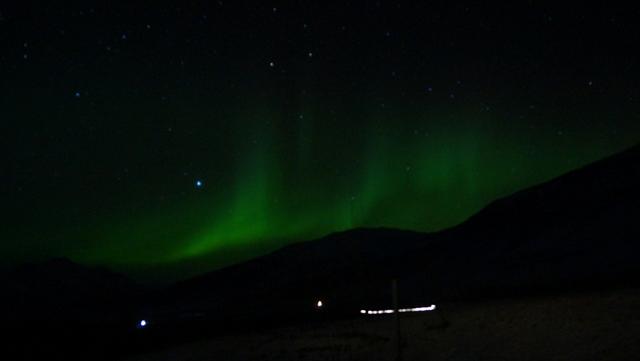 Island Nordlichter am Vatnajokull