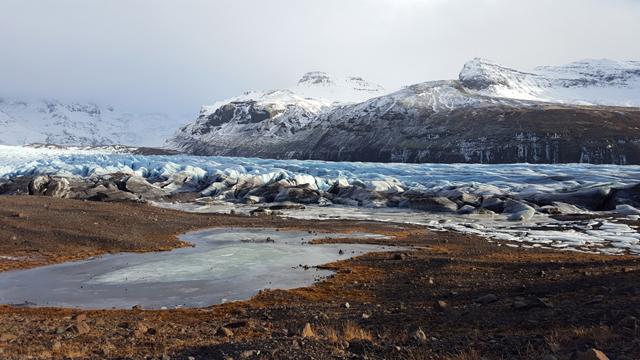 Island im Winter Road Trip Tour