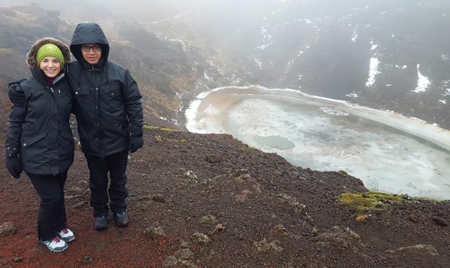 Kratersee Kerið Island