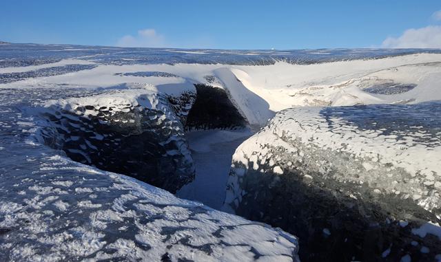 Vatnajökull Gletscher Wandern 02