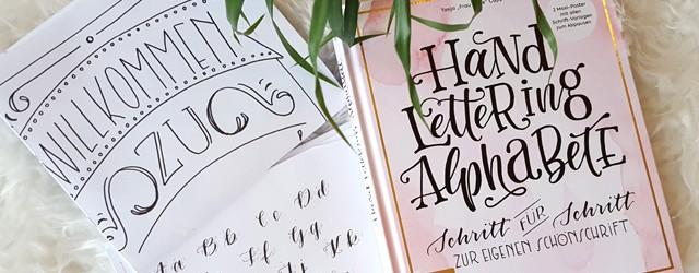 Buch Hand Lettering Alphabete von Frau Hölle 05