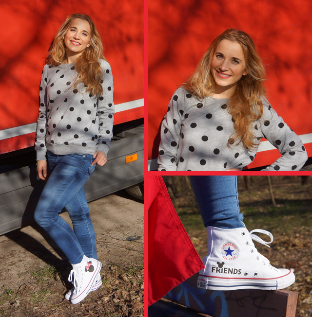 Outfit Disney Friends Chuck Taylor All Star Converse 06