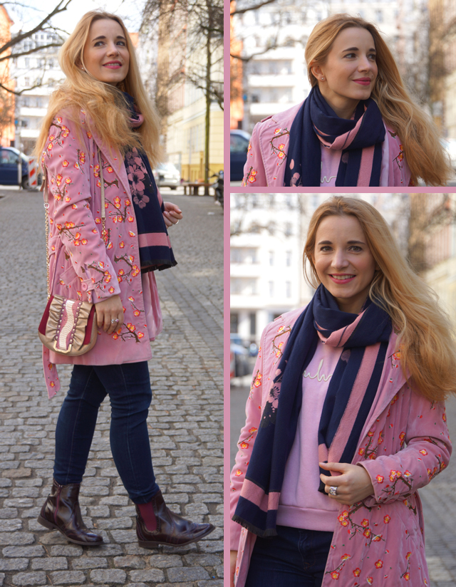 Outfit rosa Mantel 03