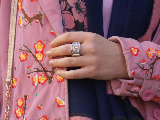Outfit rosa Mantel 05