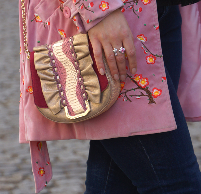 Outfit rosa Mantel 06