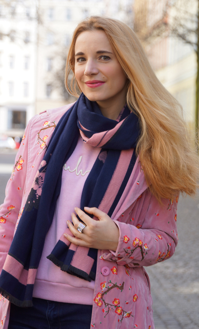 Outfit rosa Mantel 07