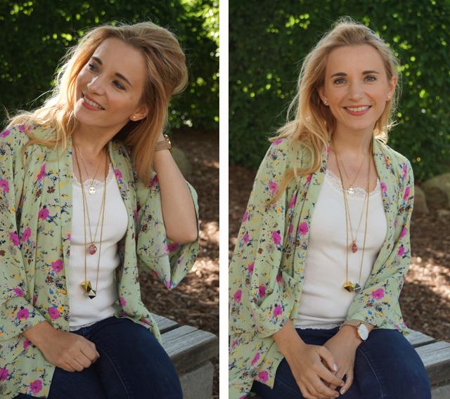 Outfit Blumen-Kimono & Ketten-Layering 04