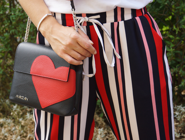 Outfit Love Hearts Charity Tasche Herz Marc Cain