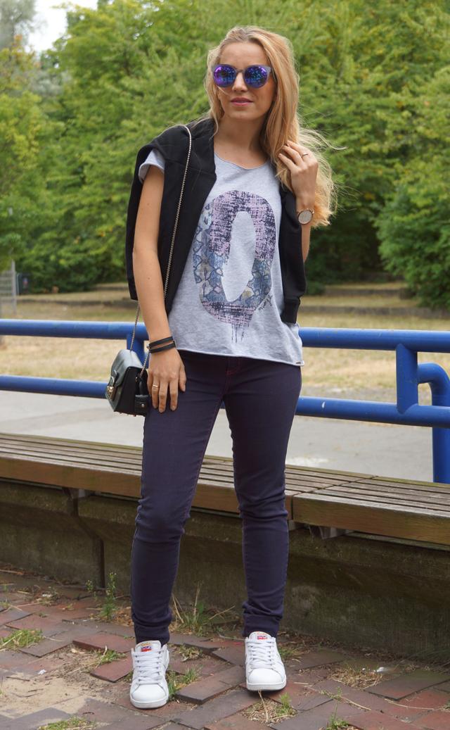 Outfit Gola Sneaker & Sylvie Optics Sonnenbrille 02