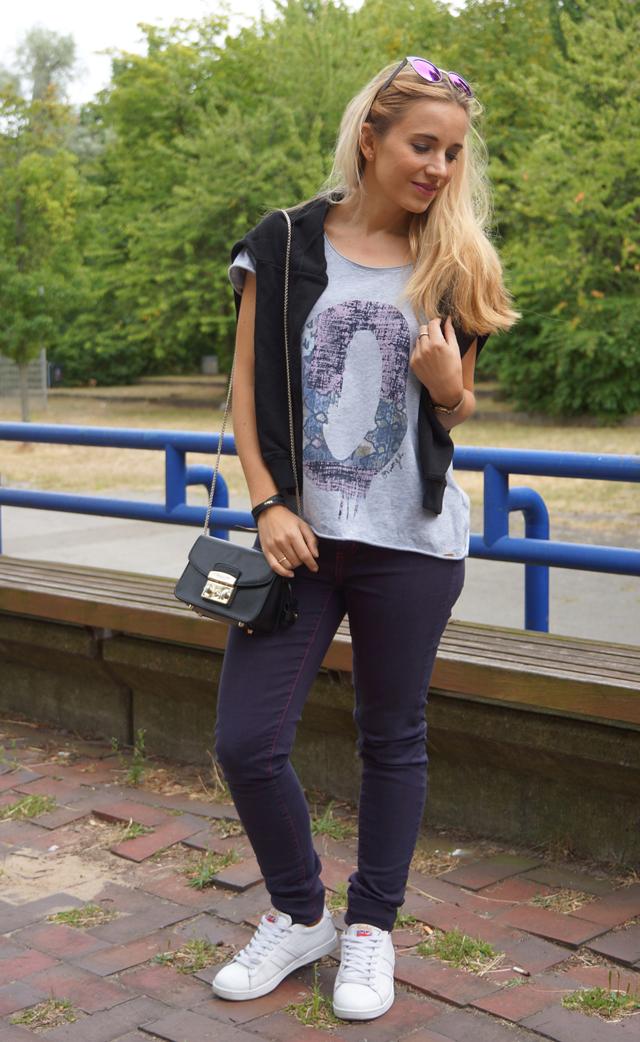 Outfit Gola Sneaker & Sylvie Optics Sonnenbrille 05