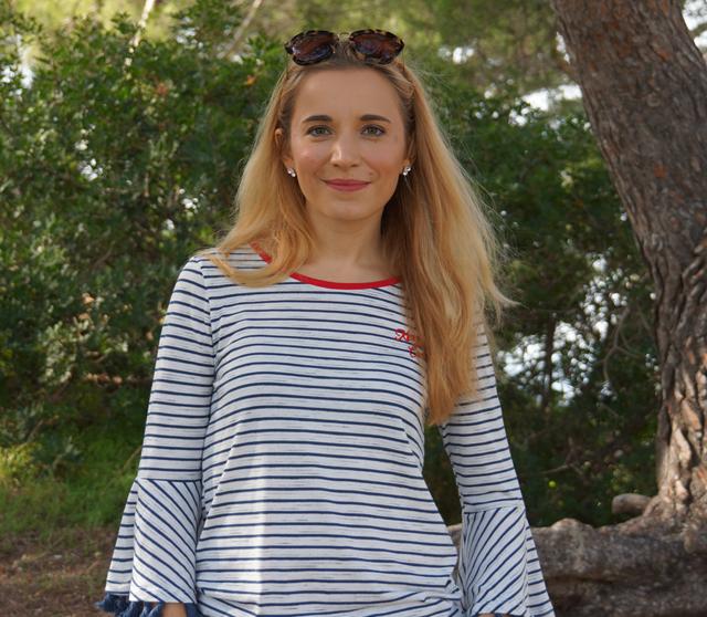 Outfit Tossa Style Fransen Shirt 06