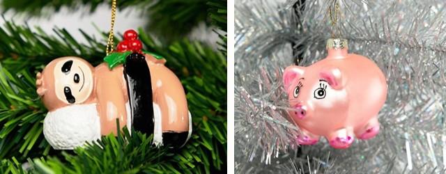 Ausgefallene & bunte Weihnachtsbaumdeko