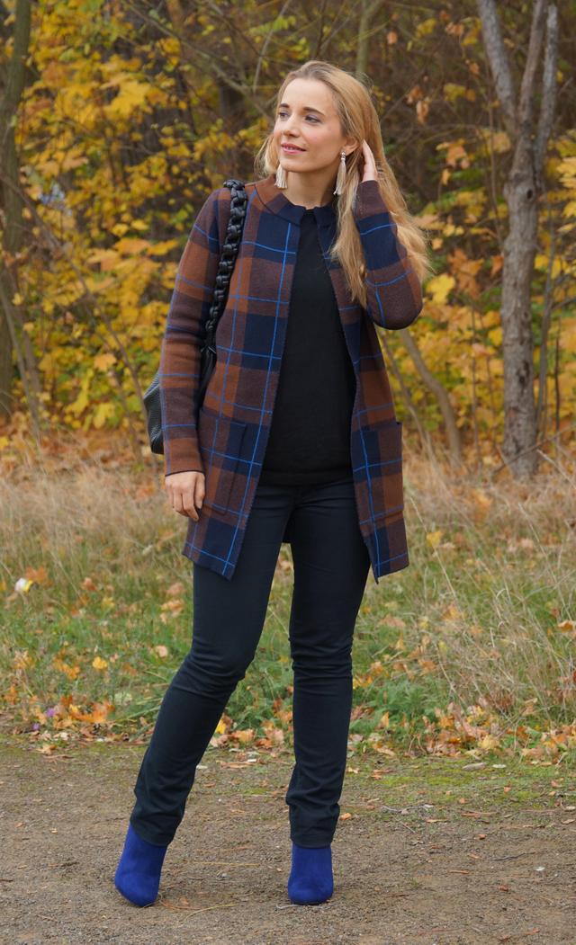 Outfit Herbstlook mit blauen Schuhen 04