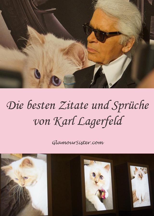 Die besten Zitate und Sprüche von Karl Lagerfeld