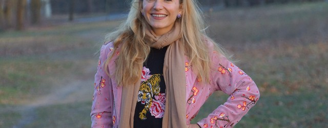 Outfit Blumenstickereien - Pre Spring Outfit 01
