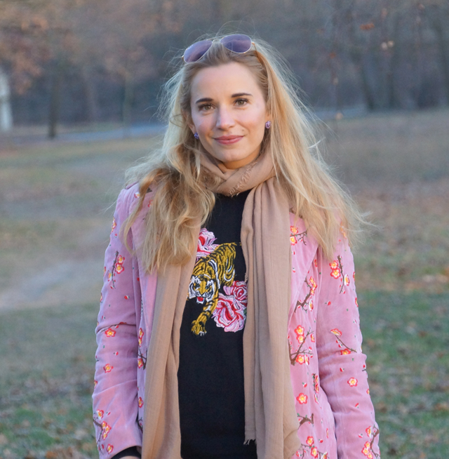 Outfit Blumenstickereien - Pre Spring Outfit 04