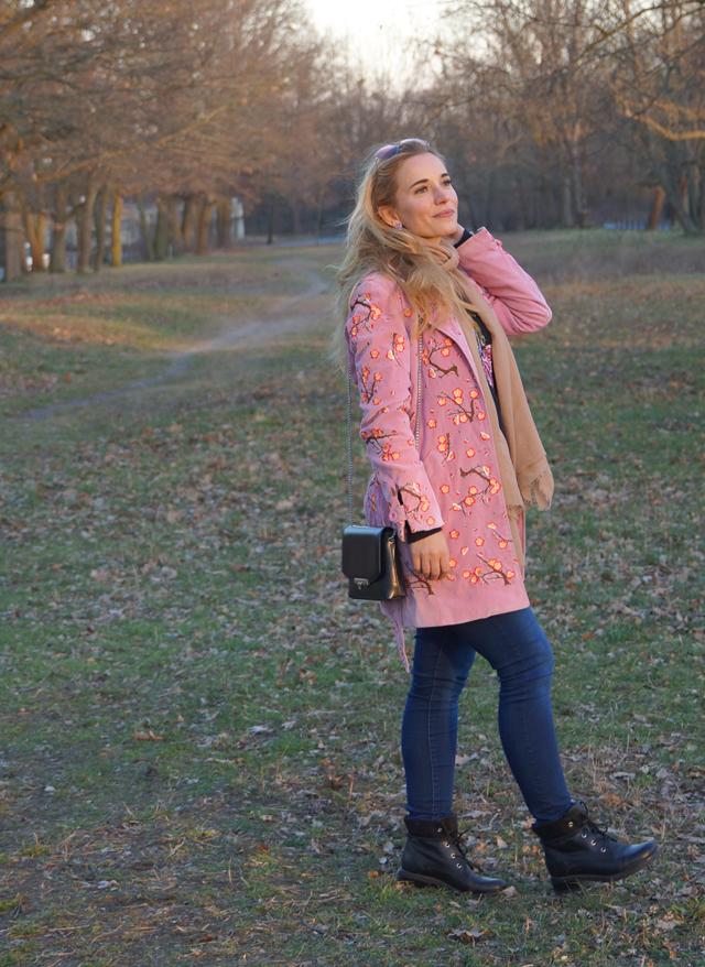 Outfit Blumenstickereien - Pre Spring Outfit 11
