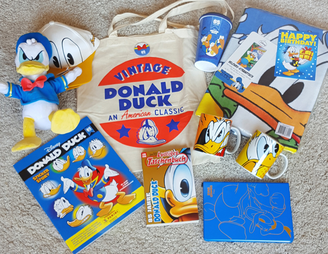 85 Jahre Donald Duck Disney Geburtstagsparty 07