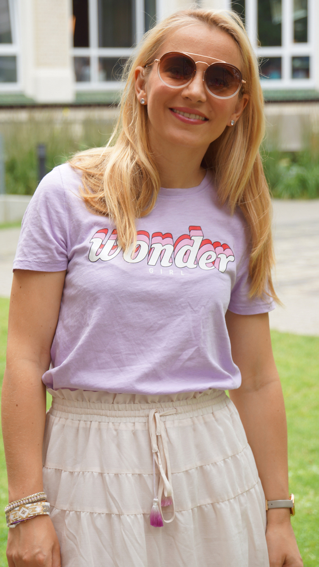 Outfit Wonder Girl Shirt 06