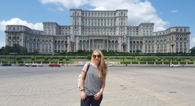 Parlamentspalast in Bukarest, Rumänien