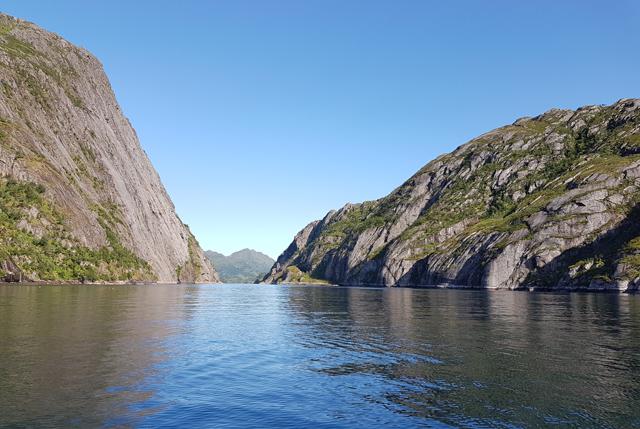 Trollfjord Norwegen 05