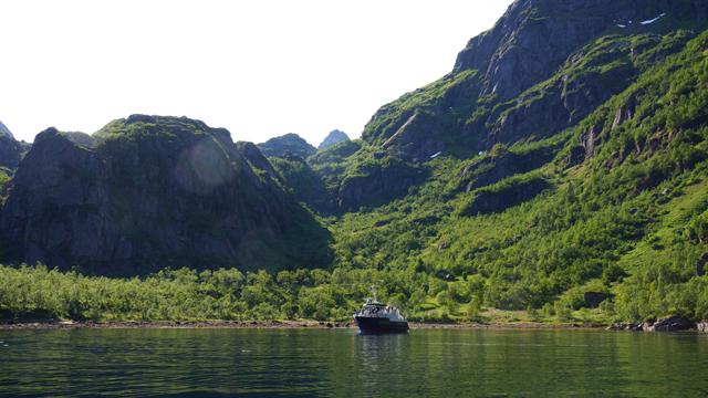 Trollfjord Norwegen 07