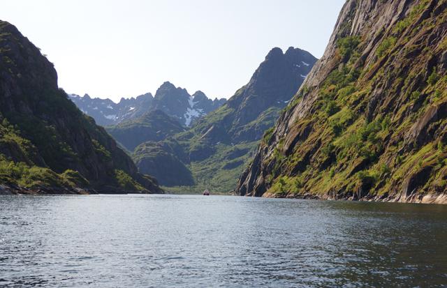 Trollfjord Norwegen 09